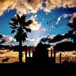 アラジンイメージアラビアの夕暮れ