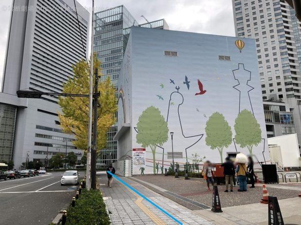 旧大阪郵便局前歩道