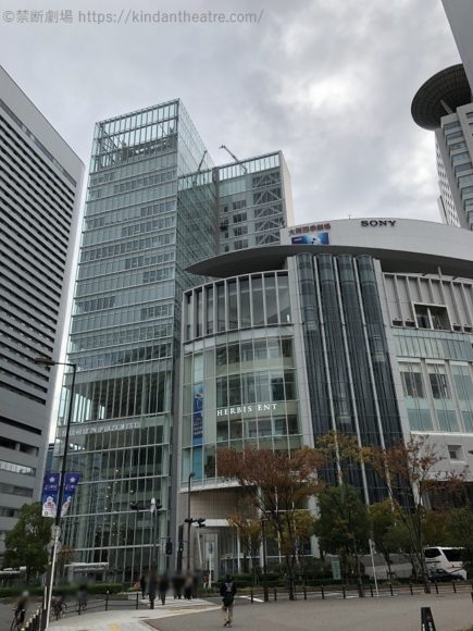 ハービスENT・大阪四季劇場ビル外観
