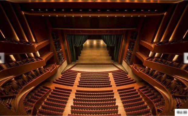 札幌文化芸術劇場hitaru客席内